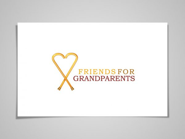 <span>FRIENDS FOR GRANDPARENTS LOGO & NAMING</span><i>→</i>